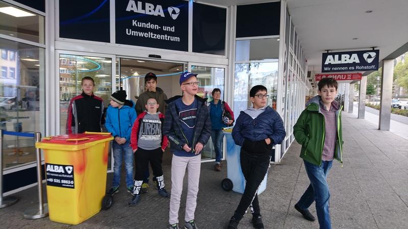 Besuch bei ALBA