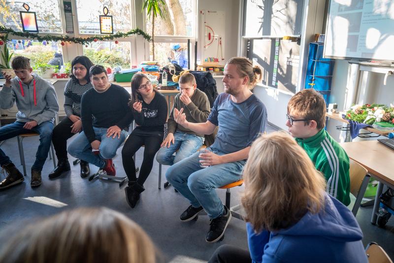Projekt Durchblick & Friends in Aktion mit Eike Weinreich