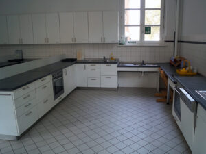 Küche der GS Bürgerstraße