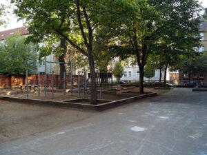 Schulhof GS Bürgerstraße